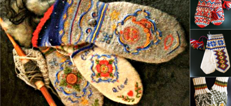 Schwedische traditionelle muster  Traditionelle und moderne Strickstücke aus Norwegen | Nordische ...
